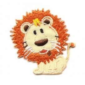 écusson lion thermocollant