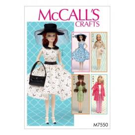 patron vêtements de poupée 30cm McCall's M7550