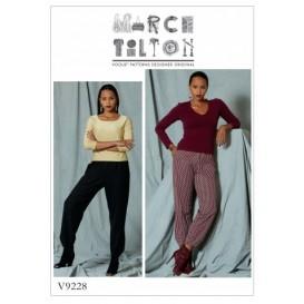 patron pantalon fuseau Vogue V9228