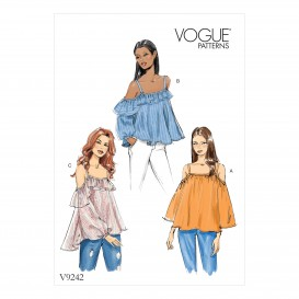 patron hauts très amples Vogue V9242