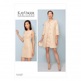 patron veste et robe Vogue V1537