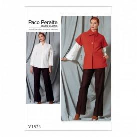 patron veste, chemise et pantalon Vogue V1526