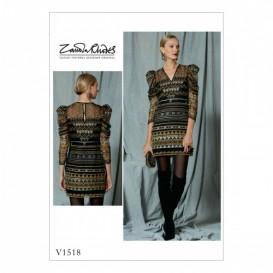 patron robe Vogue V1518