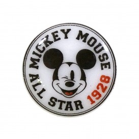 bouton disney mickey all star 18mm