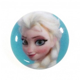 bouton disney la reine des neiges elsa 23mm