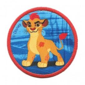 écusson disney kion le roi lion rond thermocollant