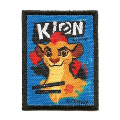 Cusson disney kion le roi lion rectangle thermocollant - Kion le roi lion ...