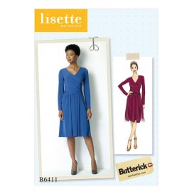 patron robe Butterick B6411