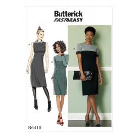 patron robe ajustée Butterick B6410