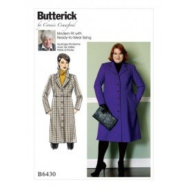 patron manteau ample Butterick B6430