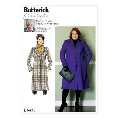 patron manteau ample Butterick B6430