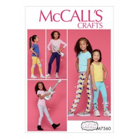 patron enfant collants McCall's M7560