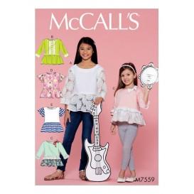 patron enfant hauts McCall's M7559