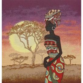 panneau de coussin artica afrique 47cm x 47cm