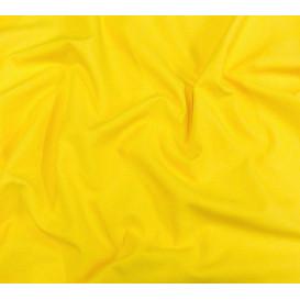 tissu coton uni jaune soleil largeur 150cm x 50cm