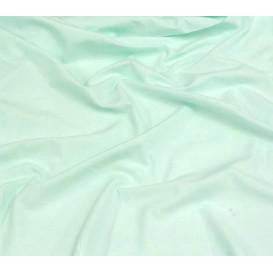 tissu coton uni vert eau clair largeur 150cm x 50cm