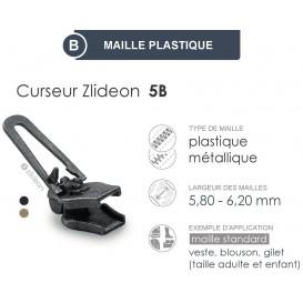 curseur ZlideOn 5B pour fermeture plastique