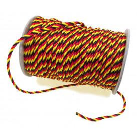 cordon tricolore belgique 3mm au mètre