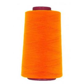 cône de fil à surfiler et à coudre orange fluo 5000yards
