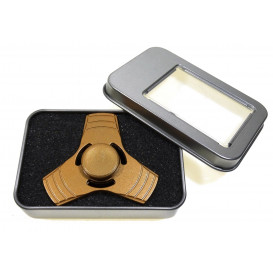 toupie hand spinner métal or 6cm
