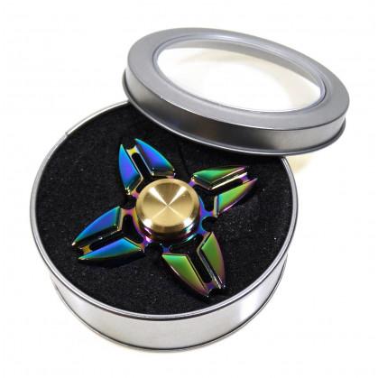 toupie hand spinner métal essence 6,5cm