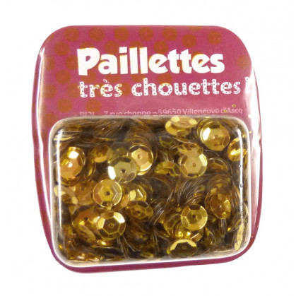 PAILLETTES 15 GRS OR