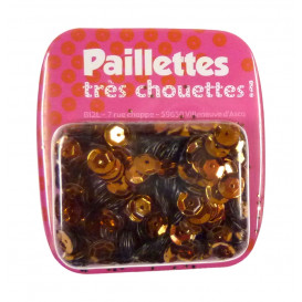 PAILLETTES 15 GRS CUIVRE