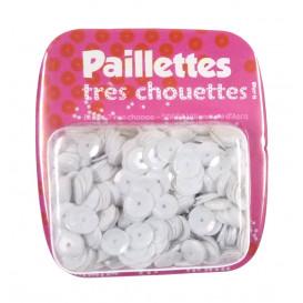 PAILLETTES 15 GRS BLANC