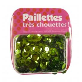 PAILLETTES 15 GRS VERT ANIS