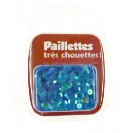 PAILLETTES 15 GRS BLEU NACRE