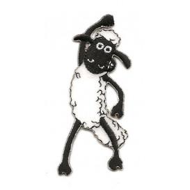 écusson shaun le mouton thermocollant