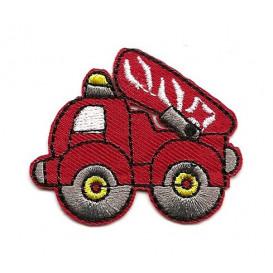 écusson camion de pompier thermocollant