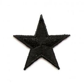 écusson étoile 3cm thermocollant