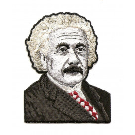 écusson albert einstein thermocollant