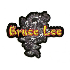 écusson dragon bruce lee thermocollant