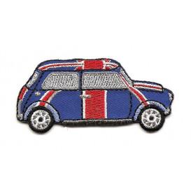 écusson voiture drapeau anglais thermocollant