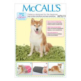 patron lits pour animal domestique McCall's M7613