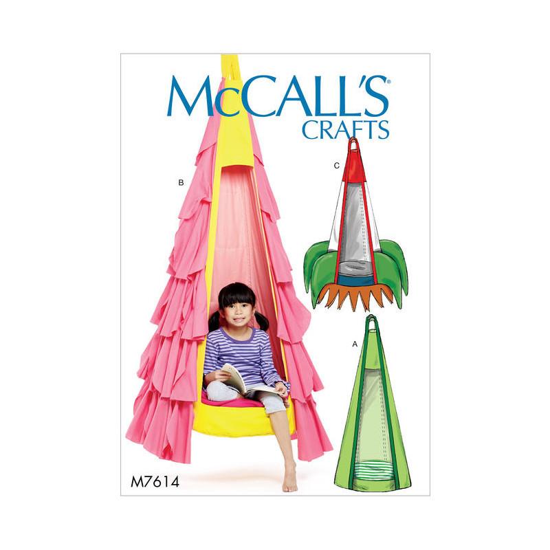 patron si ge suspendu pour enfant mccall 39 s m7614. Black Bedroom Furniture Sets. Home Design Ideas