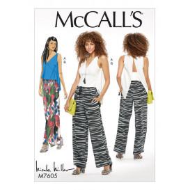 patron haut et pantalon McCall's M7605