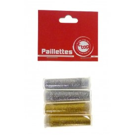 PAILLETTES DIAMANTINES OR/ARGENT