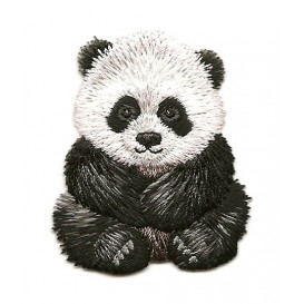 écusson panda thermocollant