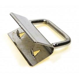 attache pour porte-cléf argent 25mm
