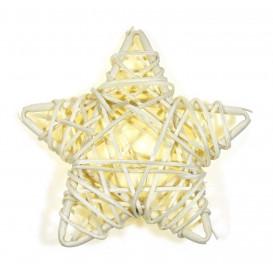 étoile osier naturel 9cm