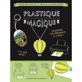 2 feuilles plastique magique pour imprimante A4