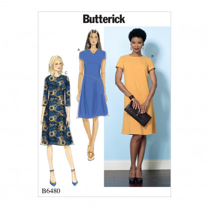 patron robe ajustée Butterick B6480