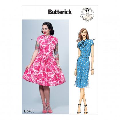 patron robe ajustée Butterick B6483