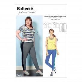 patron haut et pantalon Butterick B6498