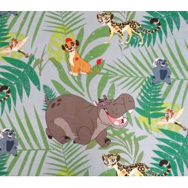 tissu coton disney kion le roi lion largeur 140cm x 50cm