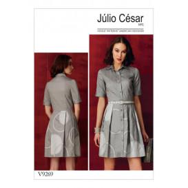 patron robe ajustée Vogue V9269
