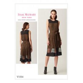 patron robe semi-ajustée Vogue V1554